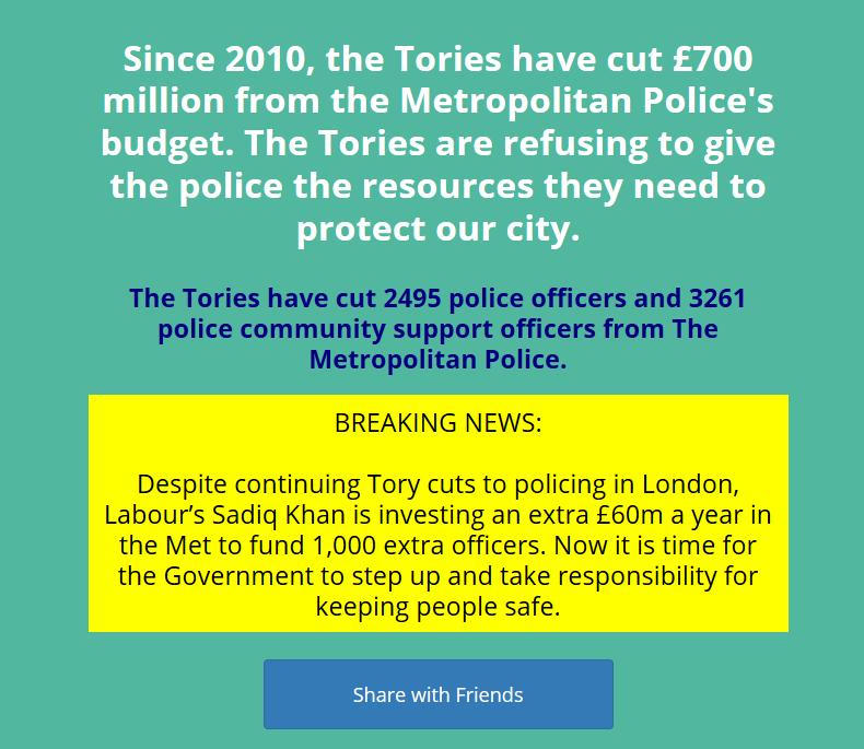 london police cuts